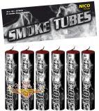 NICO - Smoke Tubes Weiß - Rauchkörper 6er Pack
