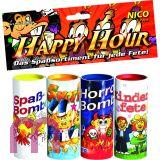 NICO - Happy Hour 4er Tischbomben Sortiment