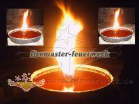 Flammenschale - Party Licht