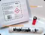 NICO - Kat.1 Bengalfeuer - Srobe Weiß Blink - 40sec.