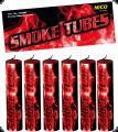 NICO - Smoke Tubes Rot - Rauchkörper 6er Pack