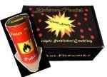 Lonestar Fireworks – 3 Stück Knister-Teufel Rubin- LS-F2-FT-003